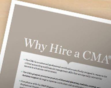 شهادة المحاسب الإداري المعتمد (CMA)